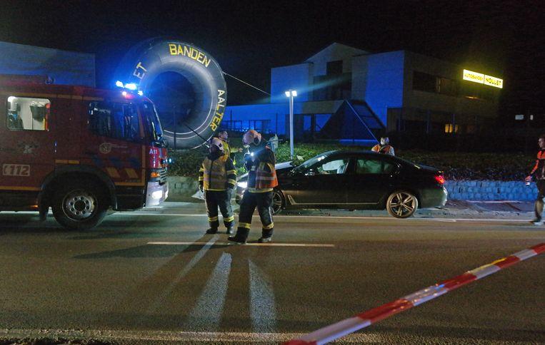 Een zwaar ongeval in Aalter heeft een lange file veroorzaakt.