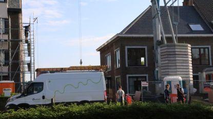 Klein gaslek tijdens slijpwerken aan bouwwerf, twee woningen tijdelijk geëvacueerd