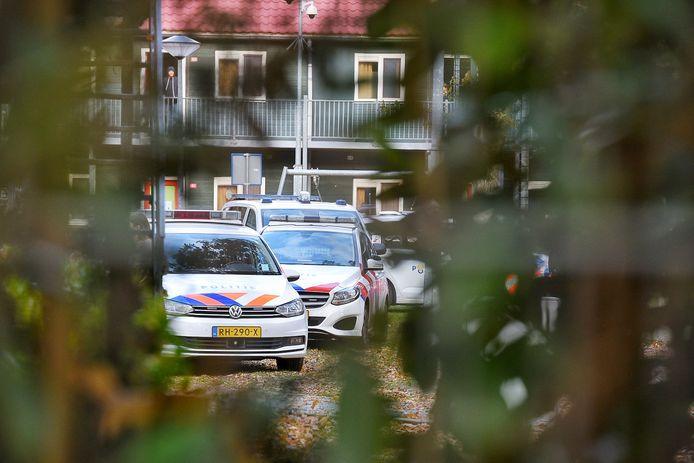 Vechtpartij op azc in Oisterwijk.