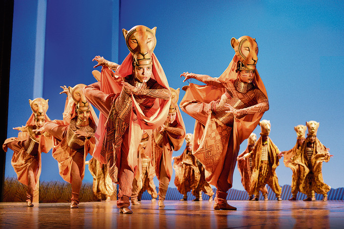 Disney's The Lion King, première 30 oktober 2016 in het AFAS Circustheater Scheveningen.