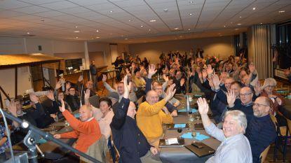 Vrijwilligers gemeente en OCMW gevierd