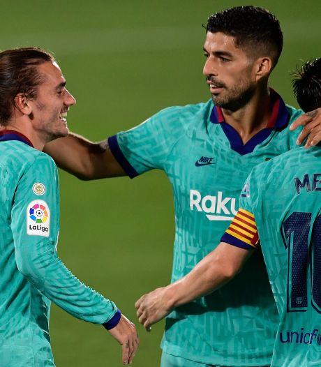 Barça wint simpel dankzij assists Messi en wereldgoals Griezmann en Suárez