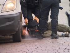 La police s'est-elle réellement acharnée sur un activiste à terre d'Extinction Rebellion?