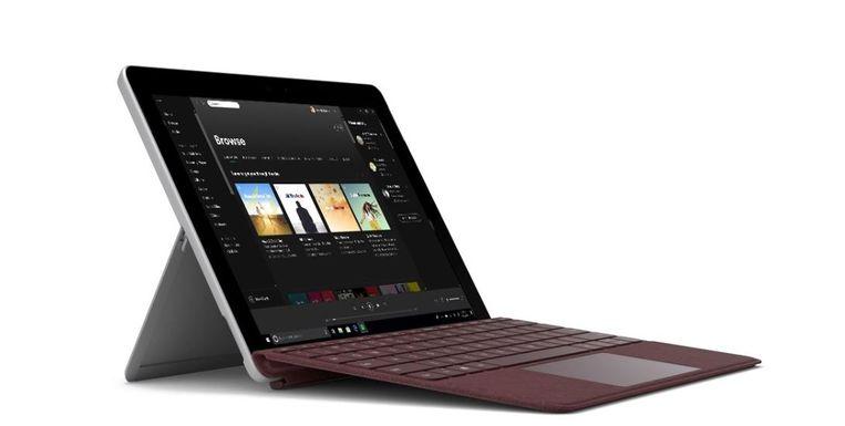 Microsoft Surface Go Beeld Microsoft