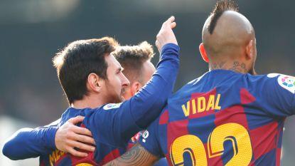Messi heeft na 40 minuten hattrick beet en maakt ook vierde, fans eisen ontslag van Bartomeu