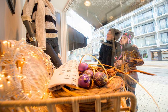 Beeld ter illustratie: winkelen in Middelkerke.