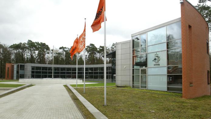 Het KNVB sportcentrum.