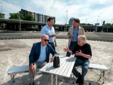Kopje koffie voor schone Blauwe Golven in Arnhem