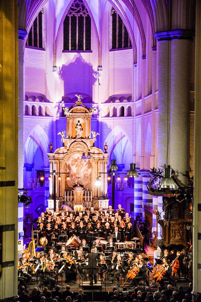 Een eerdere uitvoering van het Stabat Mater in de Petruskerk in Oirschot.