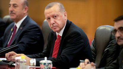 Erdogan kondigt militaire operatie aan in Koerdisch gecontroleerd Syrië