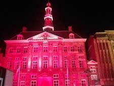Waarom het Bossche stadhuis knalrood werd