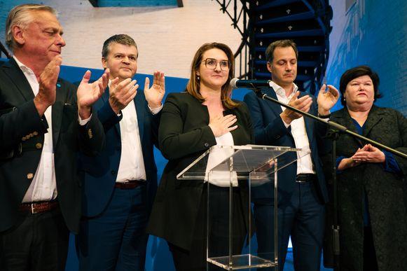 Rutten benadrukt met het hand op het hart dat ze nooit zal samenwerken met het Vlaams Belang.