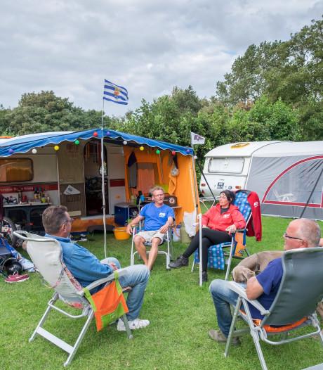 Goede zomer zorgt niet voor veel meer kampeerders