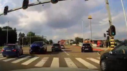 Nieuwe video toont hoe Dodge vlak voor drama in tegenovergestelde richting voorbij auto's raast in Houthalen-Helchteren