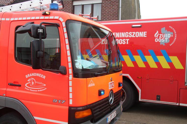 Brandweerzone Vlaamse Ardennen en brandweerzone Zuid-Oost.