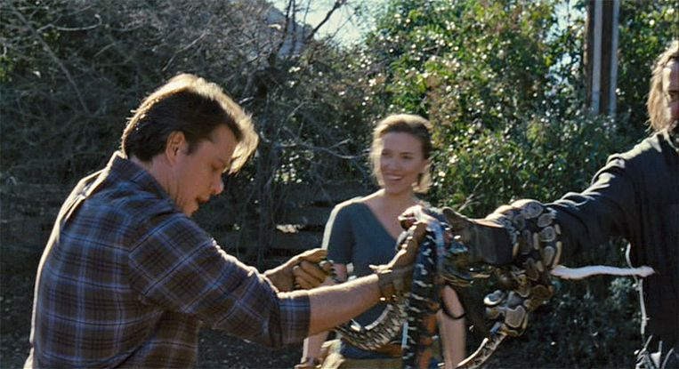 Matt Damon in 'We Bought a Zoo'.