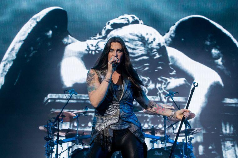 Floor Jansen van Nightwish. Beeld null