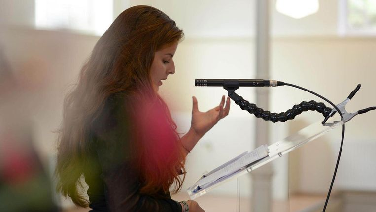 Sahar Afzal. Beeld Privé