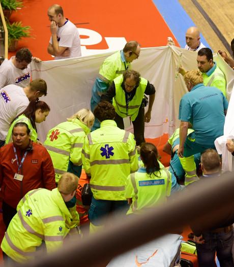 Six jours de Gand: la course arrêtée après une nouvelle chute, Thijssen emmené à l'hôpital