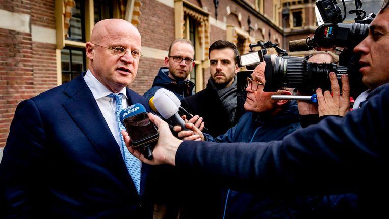 Ferdinand Grapperhaus, minister van Justitie en Veiligheid Beeld anp