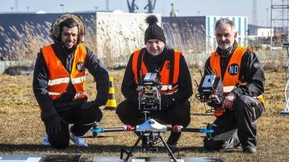 Binnenkort gaan drones windmolens controleren