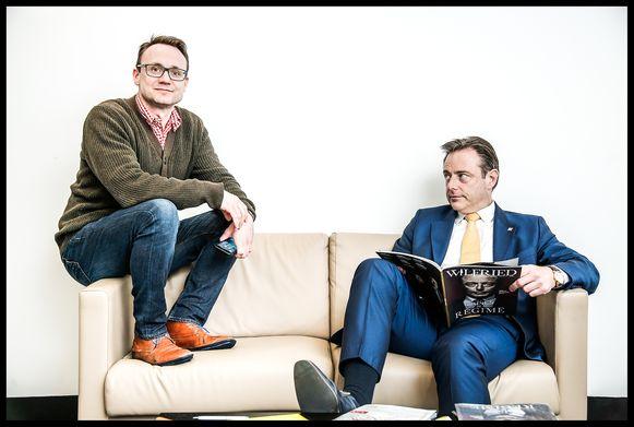 Joachim Pohlmann (37) leerde Bart De Wever kennen aan de unief. Ze waren allebei intelligent, rechts, bij de VU en verliefd op taal. De Wever ging hem in de loop der jaren blind vertrouwen, want op fouten was hij toch niet te betrappen.