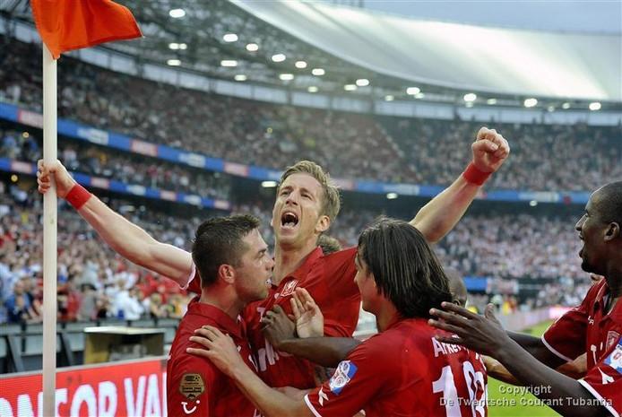 FC Twente won de KNVB Beker in 2011 voor het laatst. In de finale werd Ajax verslagen.