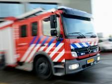 Brandweer naar rokende garagebox in Woudenberg