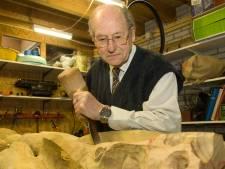 Juul van de Kolk, begenadigd beeldhouwer, overleden