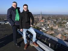 Boerenbondgebouw Wanroij: Wat 'n uitzicht vanaf 40 meter hoog !