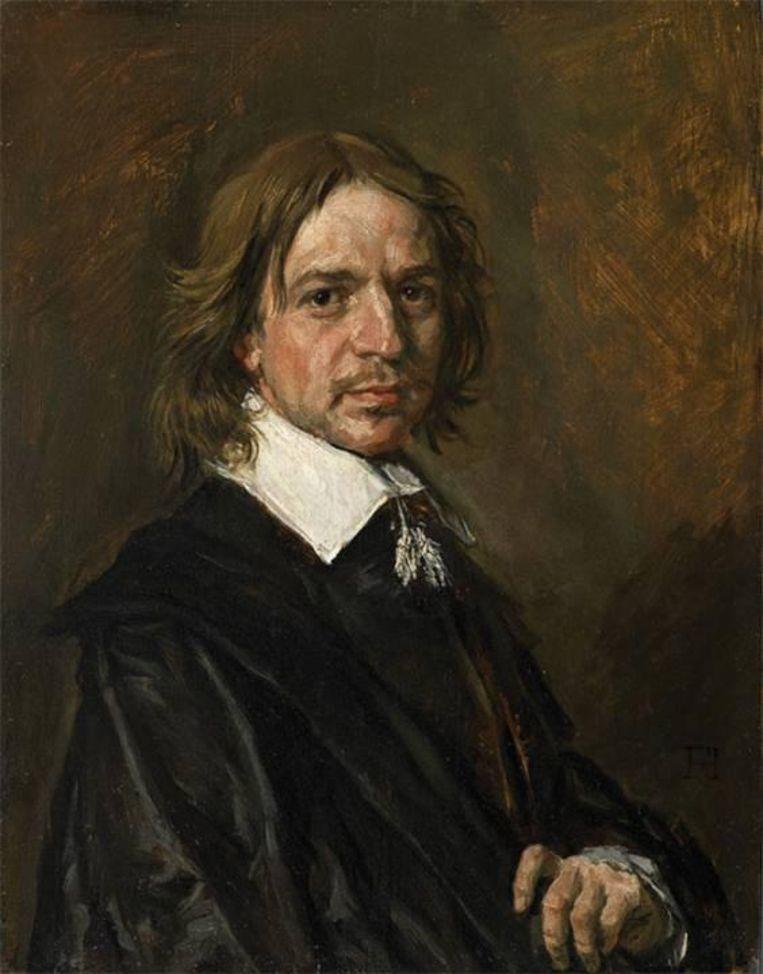 Onbekende man, Frans Hals. 'De verhoudingen kloppen niet; een 17de-eeuwse schilder zou het hoofd groter hebben afgebeeld.' Beeld Sotheby's