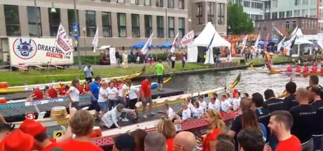 Eerste lustrum Drakenbootfestival Helmond: 'Buienradar kan kapotvallen'
