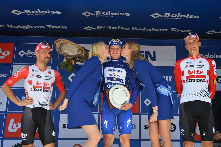 Remco Evenepoel won vorig jaar de Baloise Belgium Tour.