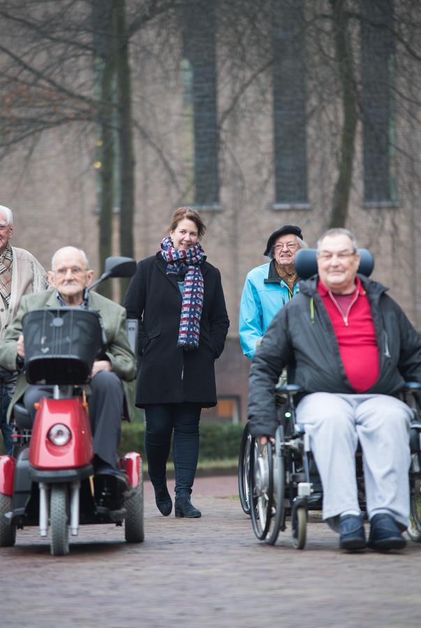 Barbara Versteegen (in het midden).
