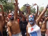 Studenten Papoea protesteren tegen racistische agenten