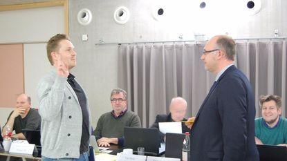 Pieter Schiltz legt eed af als gemeenteraadslid