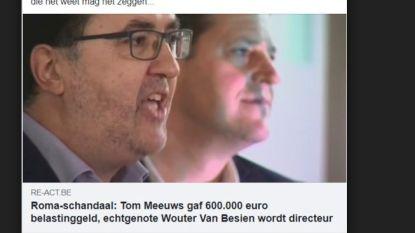 Facebook verwijdert 'schijnheilig paterke Wouter Van Besien'