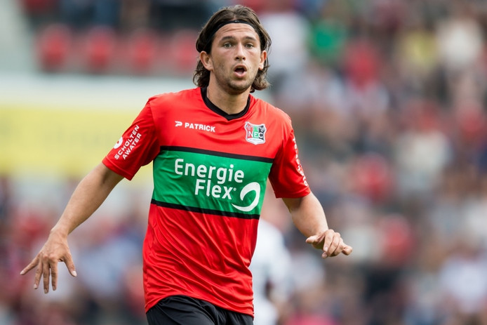 NEC-speler Julian von Haacke.