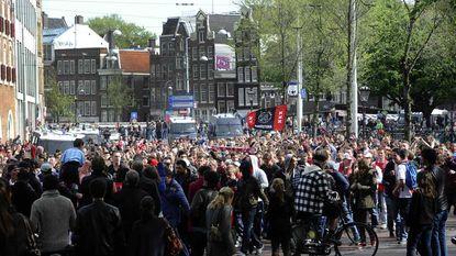 Ajax-fans vernielen trein van van Almelo naar Amsterdam