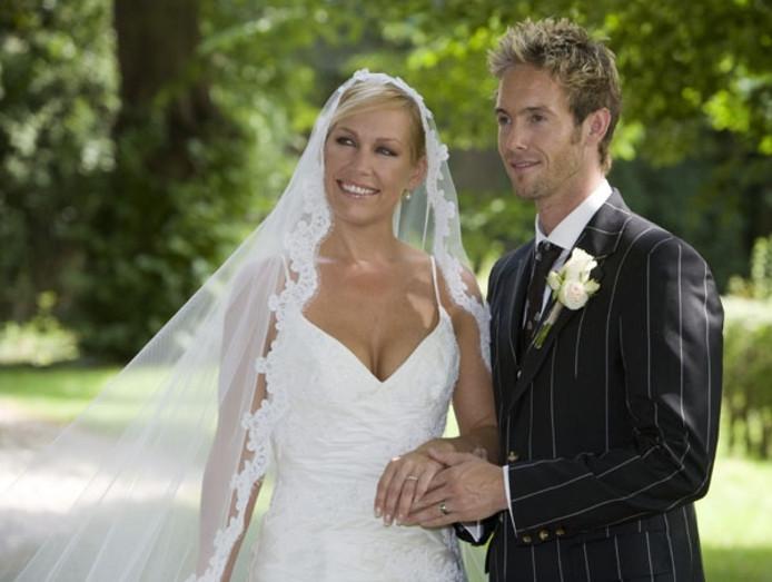 Charly Luske and wife Tanja Jess