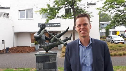 Rene van Donschot op zijn meest dierbare plek in Roosendaal: woongemeenschap Sterrebos voor mensen met een verstandelijke beperking.