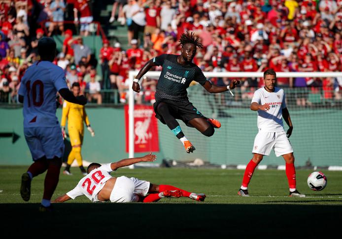 Sur sa lancée, Divock Origi a inscrit son premier but de la saison avec Liverpool la nuit dernière.