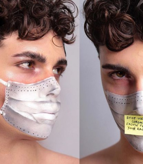 Un make-up artist italien fait passer un message fort au sujet du coronavirus