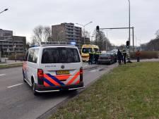 Man loopt hoofdwond op bij kopstaart-aanrijding in Nijmegen