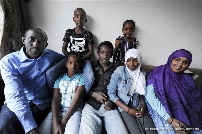 Met steun van de stichting Palet kon Hasan Abdulahi zijn vrouw en kinderen over laten komen naar Nederland.