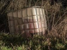 Grote container met drugsafval gedumpt in Nuenen