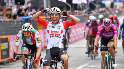Weer prijs voor Lotto-Soudal: Caleb Ewan pakt zijn tweede ritzege in Giro