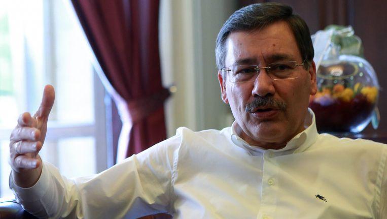 Burgemeester Melih Gökçek, burgemeester van Ankara.