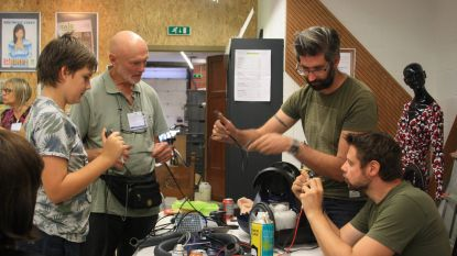 Brabants Radiomuseum decor voor Repair Café