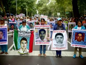 Protest in Mexico een jaar na ontvoering van 43 studenten